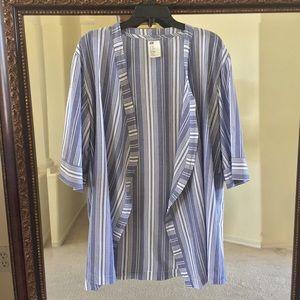 H&M Striped Kimono